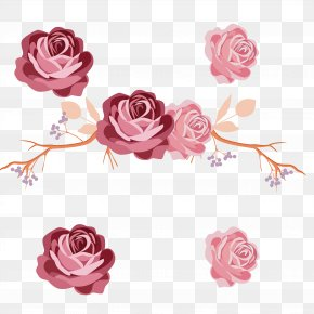 Red Peony - Wall Decal Rose Family Polyvinyl Chloride PNG