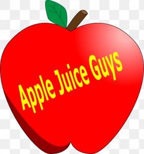 Apple Juice - Apple Cartoon Clip Art PNG