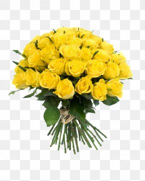 Bouquet Flowers - Flower Bouquet Yellow PNG