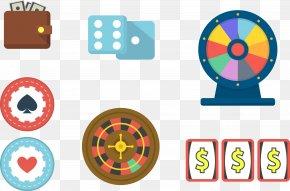 Gambling Tools - Luck Wheel Illustration PNG
