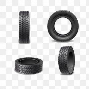 Wheel Tires - Car Tire Wheel Vecteur PNG