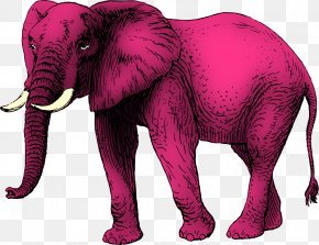 Elephant Clipart - Elephant Silhouette Drawing Clip Art PNG