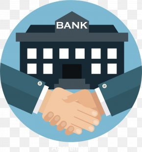 Cartoon Vector Handshake Bank - State Bank Of India Loan Finance Banking In India PNG