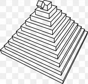 Pyramid - 3D Computer Graphics Animation Clip Art PNG