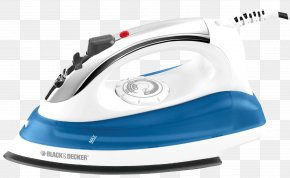 Iron Box - Clothes Iron Black & Decker Steam Electricity PNG