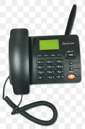 Design - AT&T Trimline 210M Communication Telephone Caller ID PNG