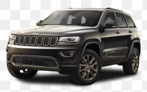 Black Jeep Grand Cherokee Car - 2017 Jeep Grand Cherokee 2018 Jeep Grand Cherokee Trackhawk Sport Utility Vehicle PNG