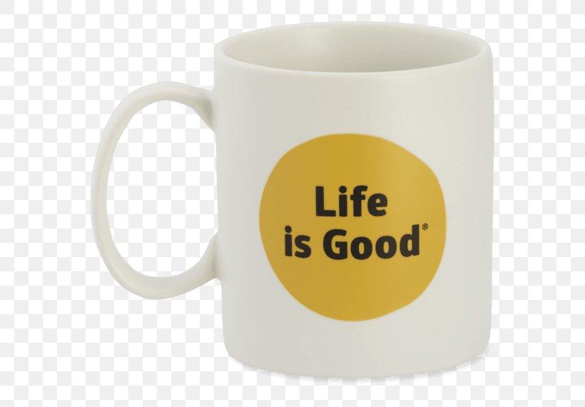 Mug M Coffee Cup Life Is Good Jake's Mug TMD Holdings Life Is Good Mug, PNG, 570x570px, Mug, Coffee Cup, Cup, Drinkware, Life Is Good Download Free
