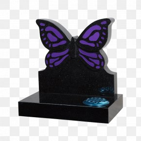 Butterfly - Headstone Butterfly Cemetery Memorial Monument PNG