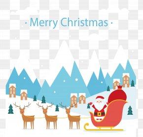 Santa Claus - Santa Claus Reindeer Christmas Eve Swedish Festivities PNG
