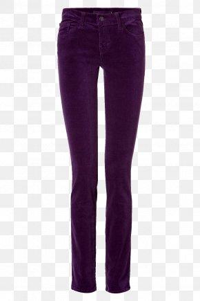 Jeans - Jeans Denim Purple Waist PNG