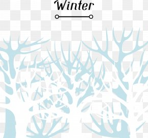 Decorative Winter Background Litter - Clip Art PNG
