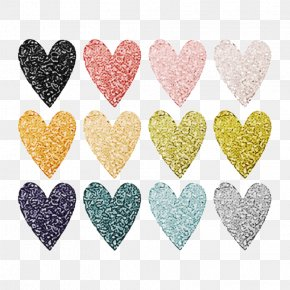 Love Glitter - Heart Pink Glitter Font Love PNG