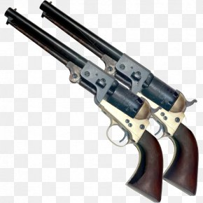 Handgun - Colt Single Action Army Colt's Manufacturing Company Revolver Firearm Pistol PNG