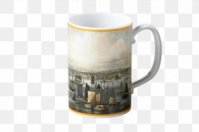 New York Harbor - Coffee Cup Mottahedeh & Company Mug New York Harbor Map PNG