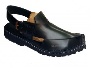 Men Shoes - Slipper Khan Chappals Peshawari Chappal Footwear Kaptaan Chappal PNG