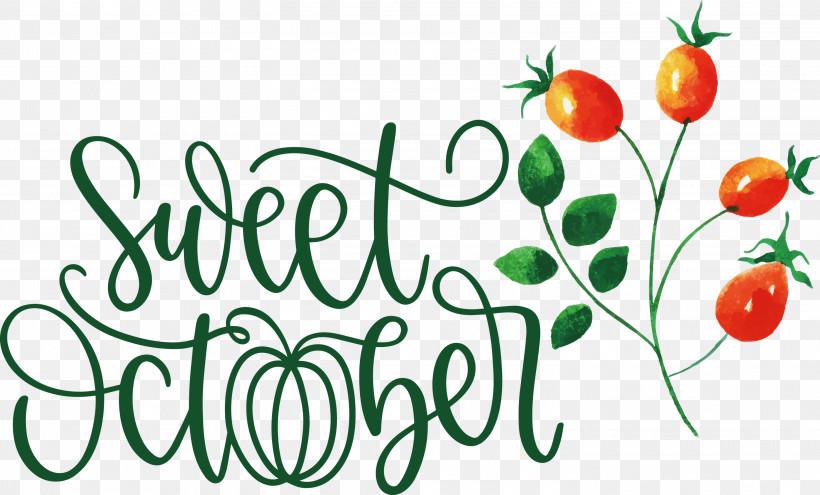 Sweet October October Fall, PNG, 3000x1813px, October, Autumn, Craft, Cricut, Fall Download Free