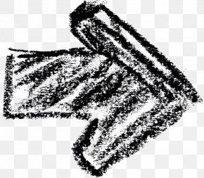 M Headgear Font Line AnimalArrow Drawing Crayon - Black & White PNG