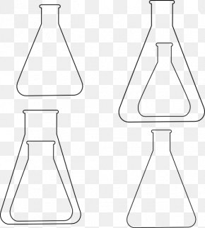 Glassware Cliparts - Symmetry Black And White Line Art Pattern PNG