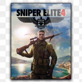 Sniper Elite - Sniper Elite 4 PlayStation 4 4K Resolution Video Game Desktop Wallpaper PNG