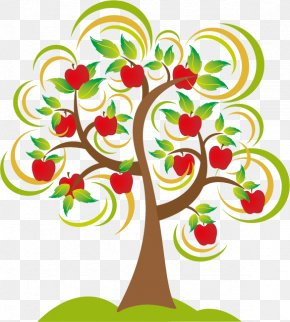 Apple - Apple Tree Drawing Clip Art PNG