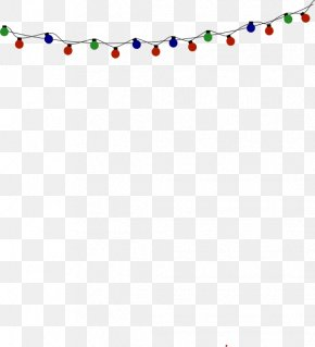 Transparent Christmas Lights - Christmas Lights Lighting Clip Art PNG