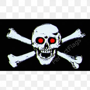 Flag - Jolly Roger Flag Skull And Crossbones Piracy Pirate101 PNG
