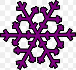 Snowflake Silhouette Cliparts - Snowflake Blue Clip Art PNG