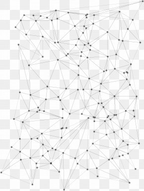 Abstract Geometric Line Patterns - Line Symmetry Point Geometric Abstraction Pattern PNG