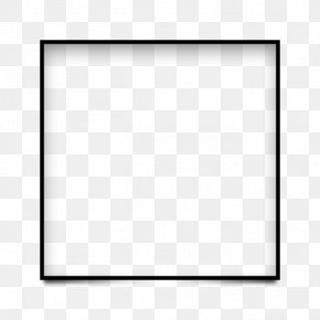 Square Frame - Picture Frame Icon PNG