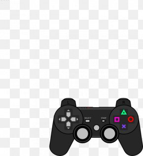 Controller Cliparts - PlayStation 4 PlayStation 3 Xbox 360 Game Controller Clip Art PNG
