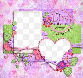 Purple Frame - Picture Frame Paper Digital Photo Frame Download PNG