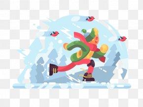 Ski Boy Illustration Material - Stock Illustration Royalty-free Illustration PNG