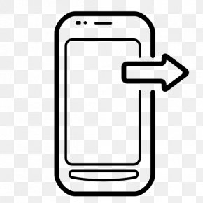 Mobile - Telephone Call IPhone Arrow Email PNG