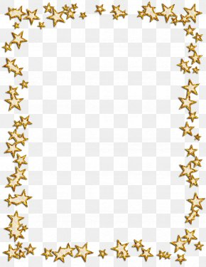 Gold Frame - Borders And Frames Picture Frames Star Photography Clip Art PNG
