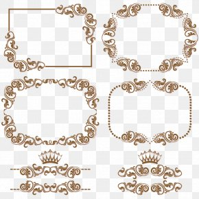 Almost Ornament - Borders And Frames Vector Graphics Pattern Clip Art Image PNG