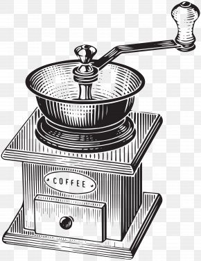 Coffee Mill Transparent Clip Art - Coffee London Cafe Poster Illustration PNG