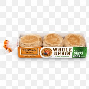 Whole Grains - English Muffin Thomas' Whole Grain Whole Wheat Bread PNG