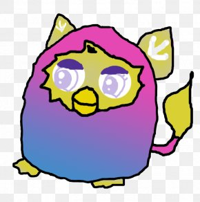 Purple - Furby Yellow Pink Drawing Blue PNG