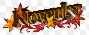 November Cliparts - November Clip Art PNG