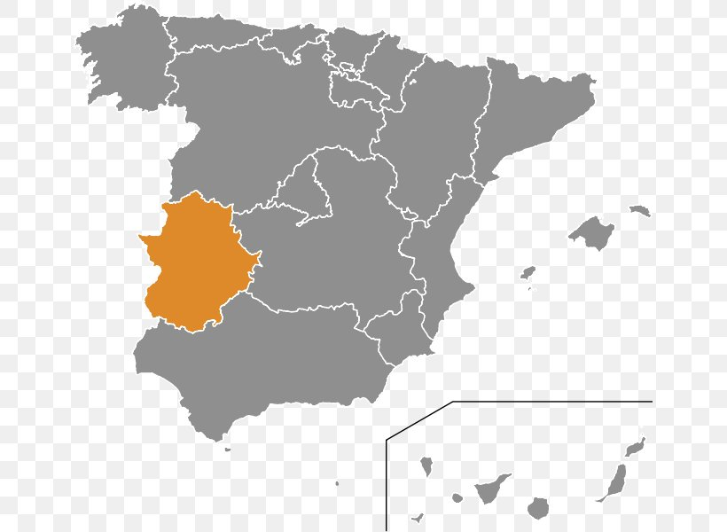 Spain Vector Map, PNG, 653x600px, Spain, Administrative Division, Blank Map, Geography, Map Download Free