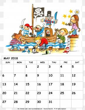 Calendar May 2018 - 0 Lunar Calendar 1 Month PNG