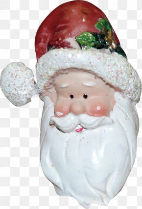 Santa Claus - Christmas Ornament Figurine PNG