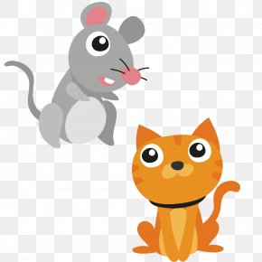 Rats And Cats - Cat Whiskers Mouse Kitten Dog PNG