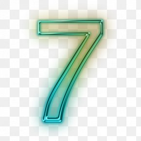 Number 7 - Number Icon PNG