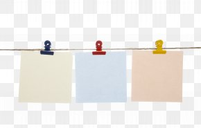 Decorative Clip On The Rope To Pull The Material Free - Rectangle PNG