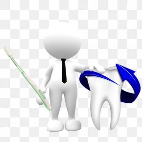 3D Villain And Teeth - Toothache Gums Dentist PNG