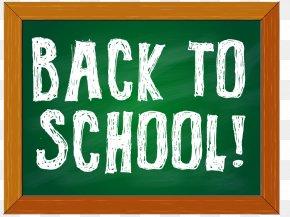 Cartoon School Boards - School Blackboard Board Of Education Clip Art PNG