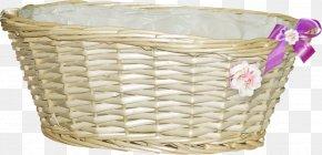 Baskets Bamboo Basket - Basket Rattan Clip Art PNG