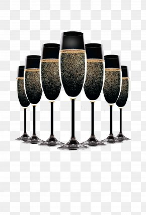Champagne - Champagne Flyer New Years Eve Party PNG